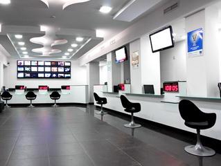 Операционно-кассовый зал для НТВ+
