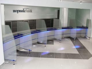 Банковская мебель в Норвик-банке