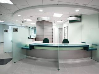 Операционно-кассовые залы Сбербанка
