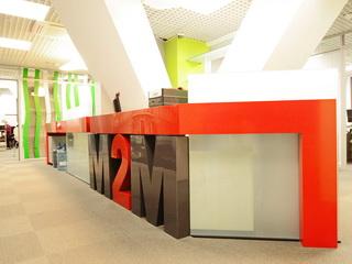 Оснащение банка М2М в бизнес центре