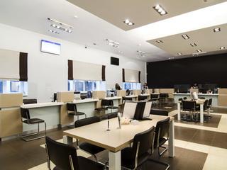 Мебель для банка ВТБ