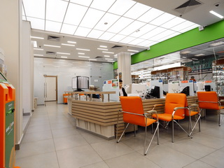 Мебель для банка Югра