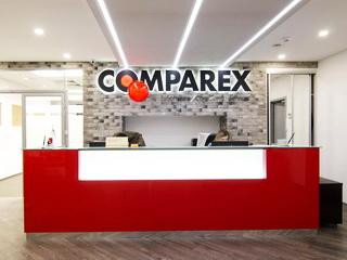 Офисный ресепшн для Comparex