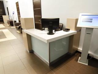 Стойка охраны для офиса ВТБ